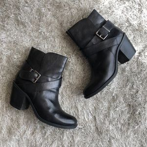 BCBGeneration Leather Booties